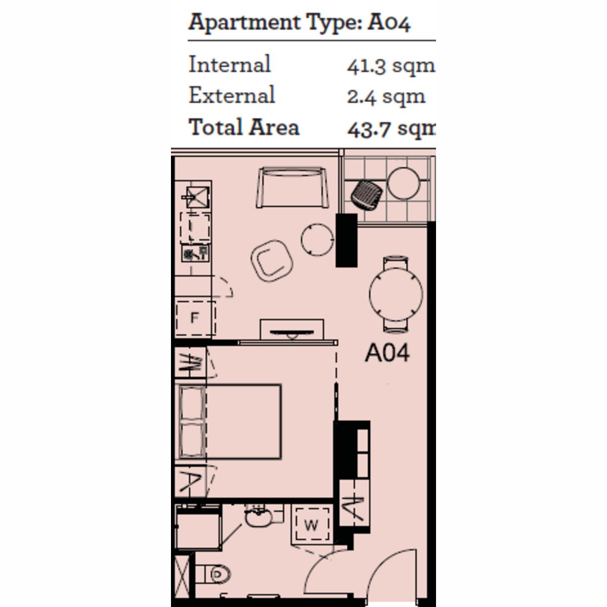 1 bedroom Gem at 18th Floor on the Paris End of CBD