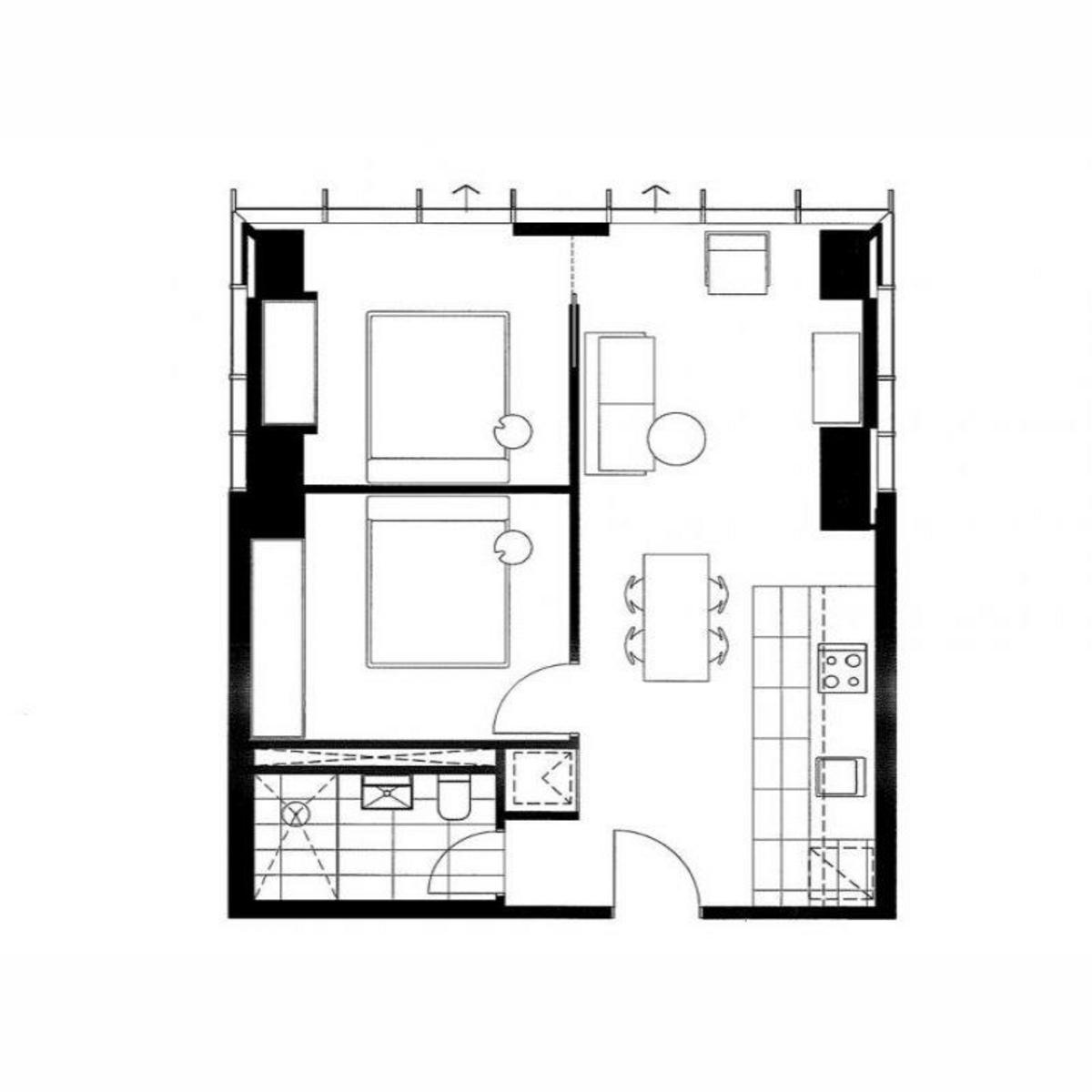 A Spectacular Apartment in Melbourne CBD